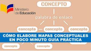 ¿Cómo elaborar mapas conceptuales en pocos minutos?