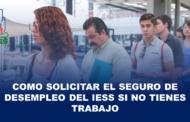Seguro de Desempleo del IESS: Requisitos para solicitarlo.