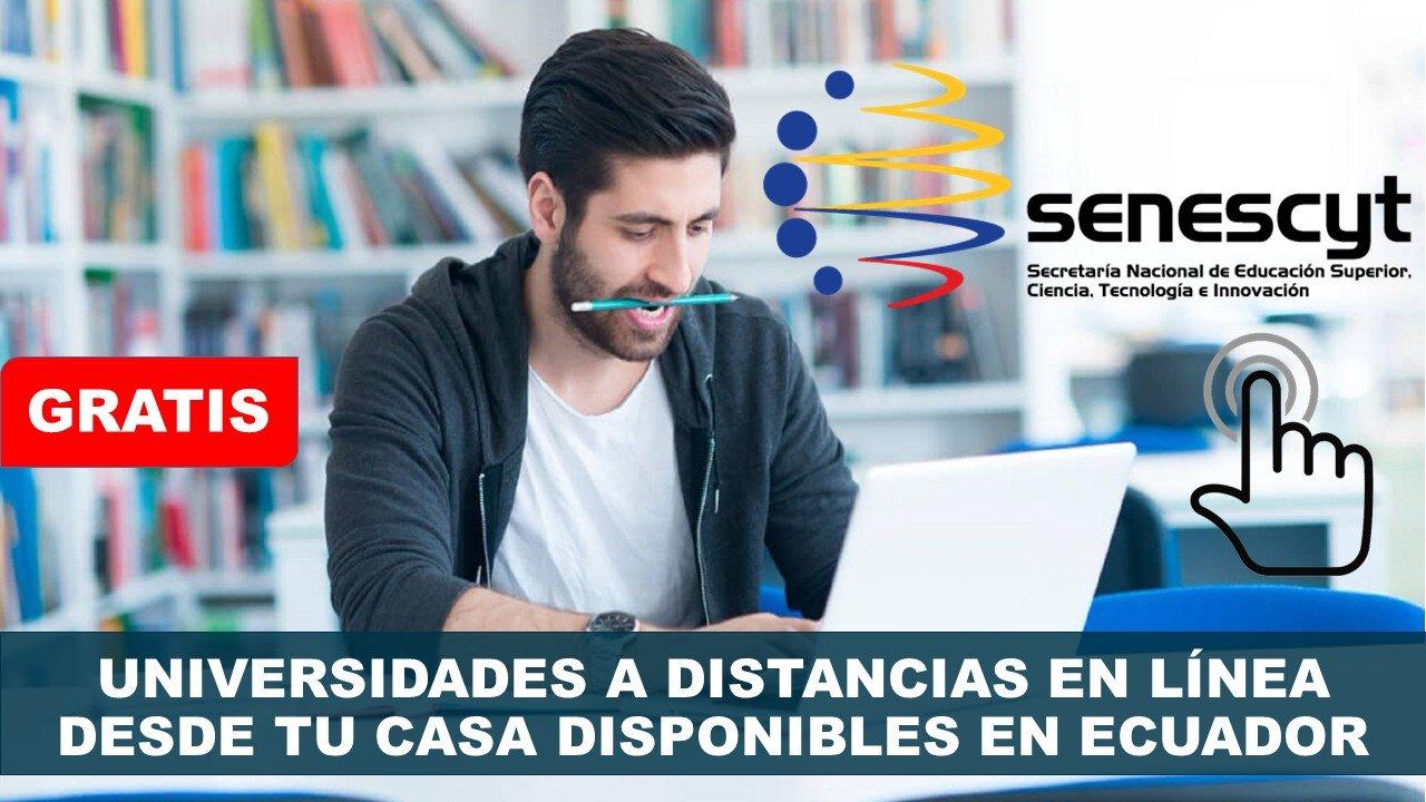Carreras Virtuales en Universidades de Ecuador