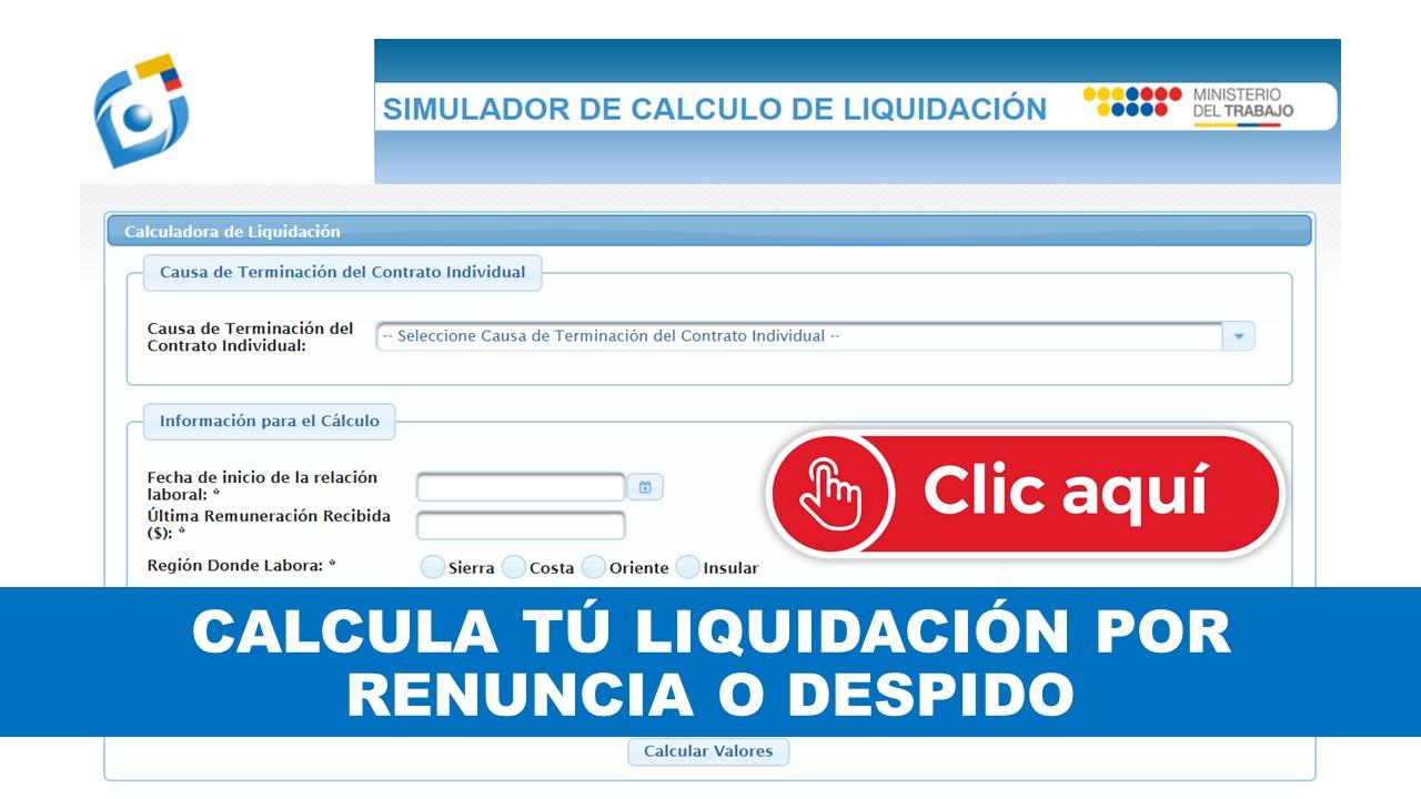 Cómo calcular una liquidación Laboral (Finiquito laboral Ecuador)