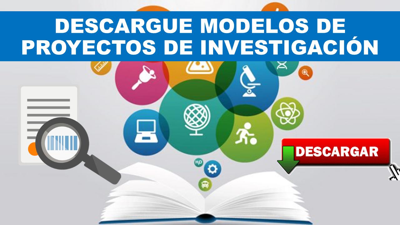 Modelos de proyectos de investigación