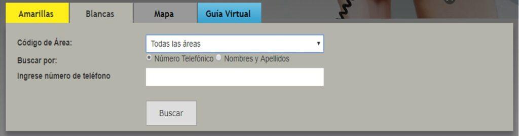 Consulta la Guía telefónica CNT Ecuador