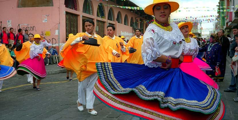 Todas las costumbres y tradiciones en Ecuador