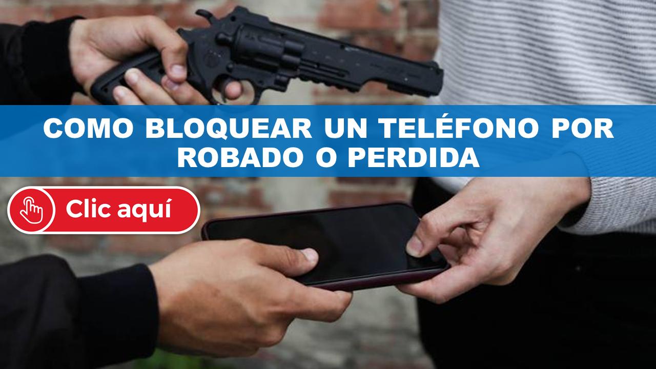 Como bloquear un teléfono robado en ECUADOR