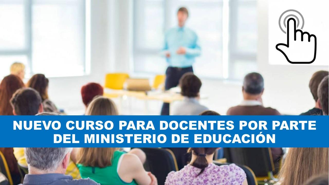 Curso para docentes del Ministerio de Educación